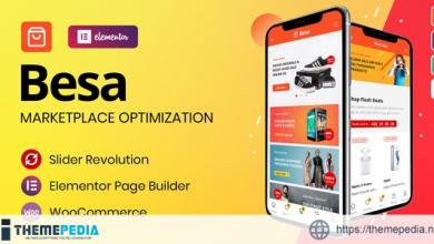 Besa – Elementor Marketplace WooCommerce Theme [Free download]