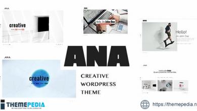 Ana – Creative Portfolio WordPress Theme [Free download]
