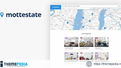 Mottestate – Real Estate WordPress Theme [Free download]