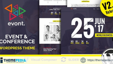 Evont – Event And Conference WordPress Theme [Free download]