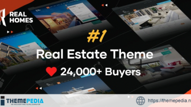 RealHomes – Estate Sale and Rental WordPress Theme [nulled]