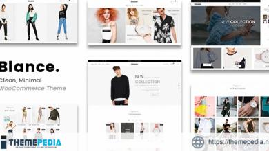Blance – Clean, Minimal WooCommerce WordPress Theme [Free download]