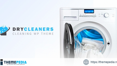 Dry Cleaning – Laundry Services WordPress Theme [Free download]