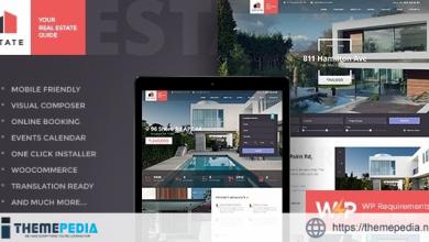 Estate – Property Sales & Rental WordPress Theme + RTL [Free download]