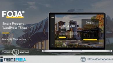 Foja – Single Property WordPress Theme [Free download]