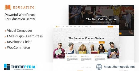 Educatito – Multiconcept Education & Courses WordPress Theme [Free download]