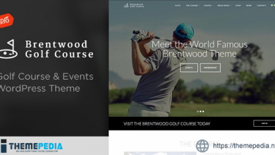 Brentwood – Golf Course Theme [Free download]