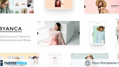 Byanca – Modern WooCommerce Theme for Clothing Brands and Shops [Updated Version]