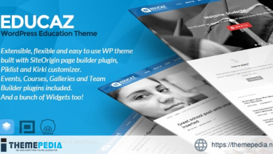 Educaz – WP academic – education theme [Free download]