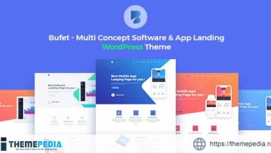 Bufet – Multi Concept Software & App Landing WordPress Theme + RTL [Free download]