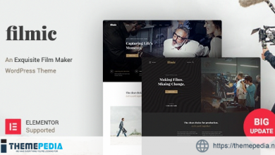 Filmic – Movie Studio & Film Maker WordPress Theme [Free download]
