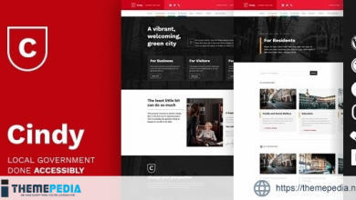 Cindy – Accessible Local Government WordPress Theme [nulled]