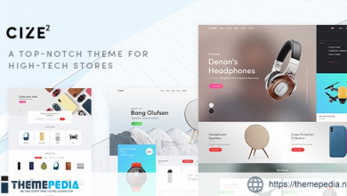 Cize – Electronics Store WooCommerce Theme (RTL Supported) [Updated Version]