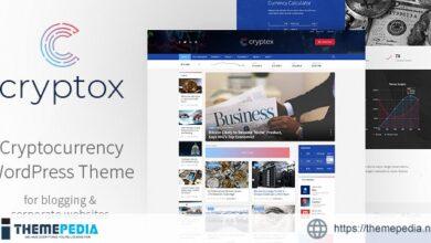 Cryptox – Cryptocurrency WordPress Theme [Updated Version]