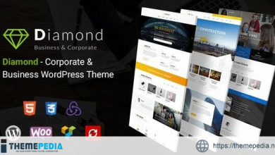 Diamond – Business & Corporate Responsive WordPress Theme [Free download]