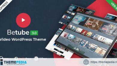 Betube Video WordPress Theme [Free download]