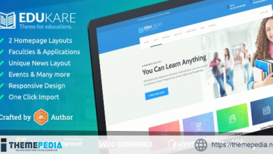 Edukare – Education WordPress Theme for University, School and Academics [Latest Version]