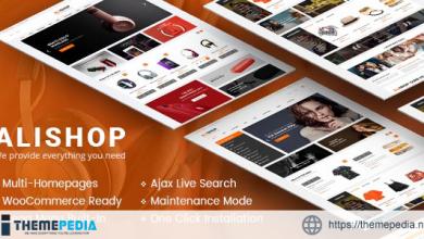 AliShop – Multipurpose WooCommerce WordPress Theme [Free download]