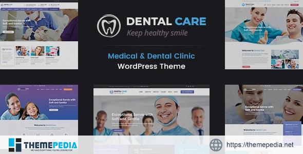 Dental Care – Teeth Clinic WordPress Theme [Free download]