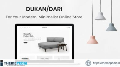 Dukandari – A Modern, Minimalist eCommerce Theme [Free download]
