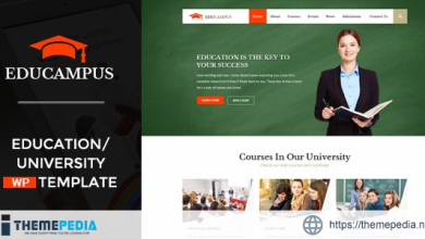 Educampus – Education & University WordPress Theme [Latest Version]