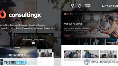 Consulting X – Finance & Business WordPress Theme [Latest Version]