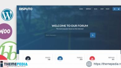 Disputo – WordPress bbPress Forum Theme [Free download]
