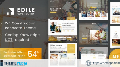 Edile – Construction WordPress [nulled]