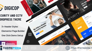Digicop – Security and CCTV WordPress Theme [Free download]