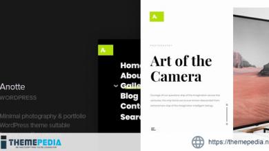 Anotte – Horizontal Photography WordPress Theme [Updated Version]