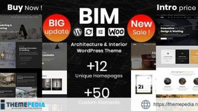 BIM – Architecture & Interior Design Elementor WordPress Theme [nulled]