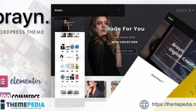 Brayn – Creative Portfolio Elementor WordPress Theme [Free download]