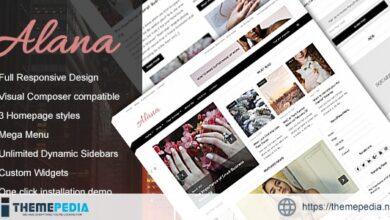 Alana – A Responsive WordPress Blog – Magazine Theme [Free download]