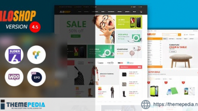 Alo Shop – Mega Market RTL Responsive WooCommerce WordPress Theme [Free download]