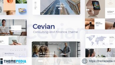Cevian – Creative Agency and Startup Theme [Free download]