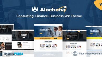 Alochona – Business Consulting WordPress Theme + RTL [Free download]