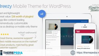 Breezy- Mobile Theme for WordPress [Free download]
