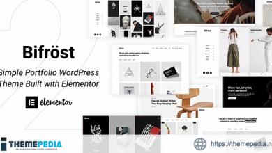 Bifrost – Simple Elementor WordPress Theme [Free download]