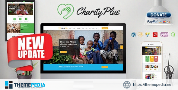 Charity Plus – Multipurpose Nonprofit WordPress Theme [Latest Version]
