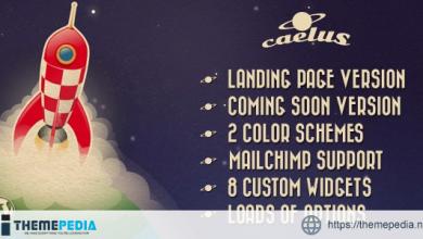 Caelus – App Landing & Coming Soon WP Theme  [nulled]