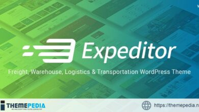 Expeditor – Logistics & Transportation WordPress Theme [Latest Version]