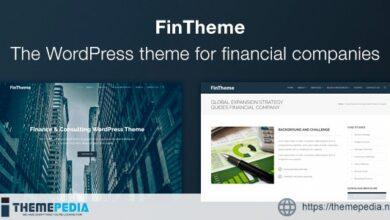 FinTheme – Finance & Consultants WordPress Theme [Free download]