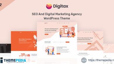 Digitax – SEO & Digital Marketing Agency WordPress Theme [Free download]