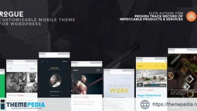 Rogue- Customizable Mobile Theme for WordPress [Free download]