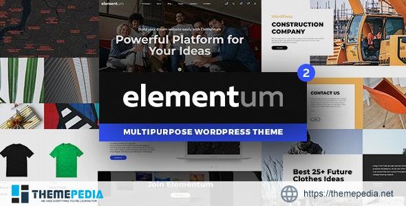 Elementum – MultiPurpose High-Perfomance WP Theme [Free download]