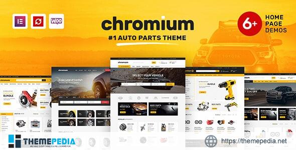 Chromium – Auto Parts Shop WordPress WooCommerce Theme [Free download]