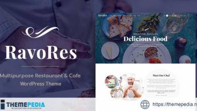 RavoRes – Multipurpose Restaurant & Cafe WordPress Theme [Free download]