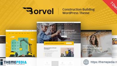 Borvel – Construction Building Company WordPress Theme [Free download]