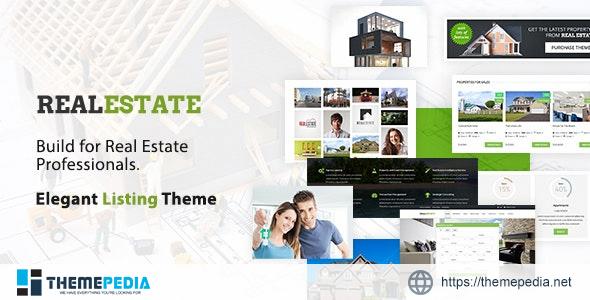 Real Estate WordPress Theme [Free download]