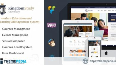 Kingdom Study – WP Learning Management System WordPress Theme [Updated Version]